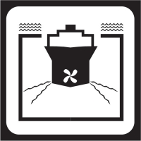 Знаки для пассажирских судов и терминалов